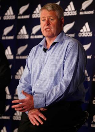 New Zealand's Rugby Union CEO Steve Tew, November 5, 2014