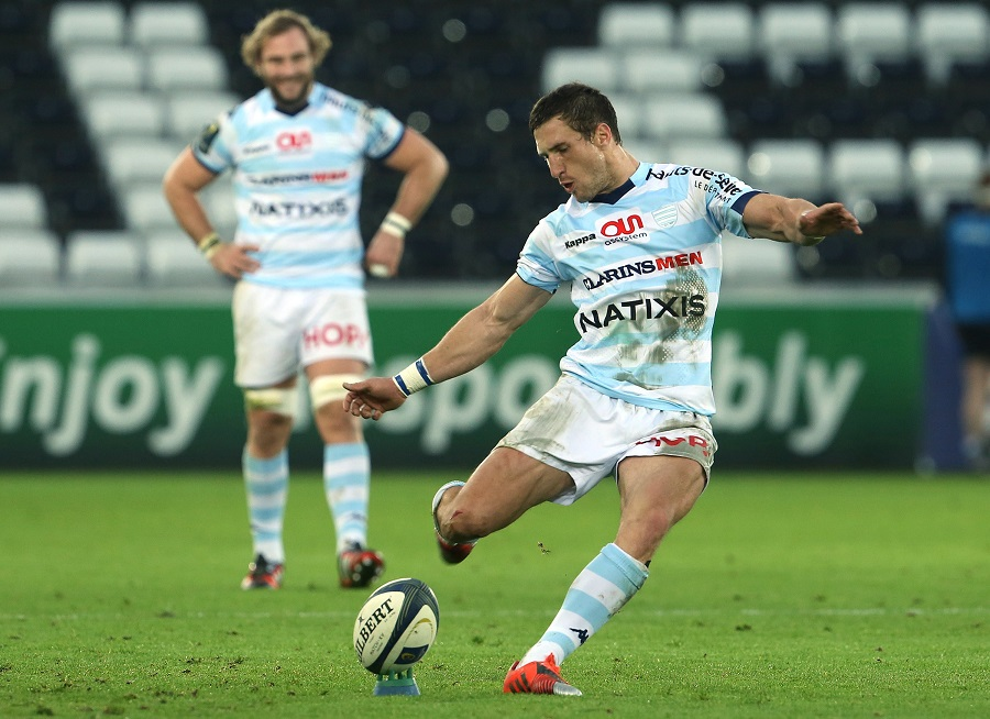 Johan Goosen kicked 11 points in the first half against Ospreys