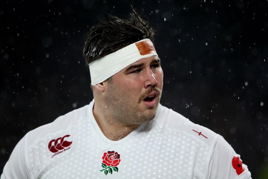England tighthead Kieran Brookes