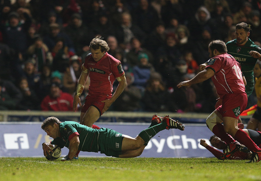 Tom Youngs goes over
