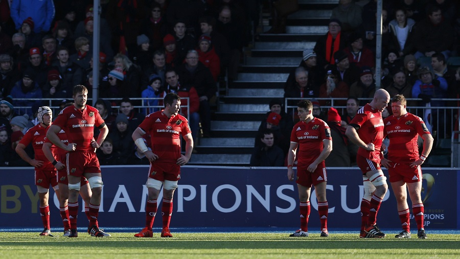 Munster players reflect on a comprehensive defeat to Saracens