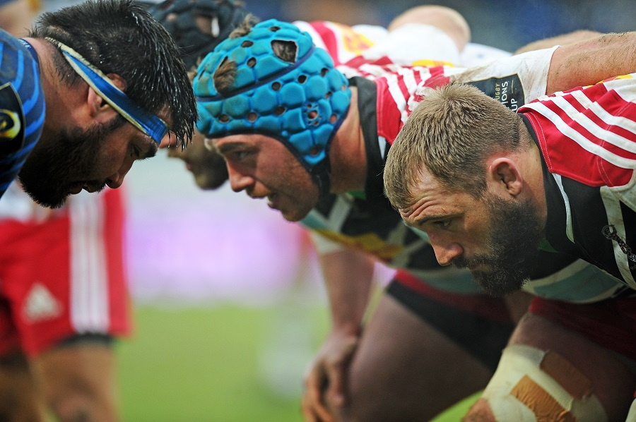 Harlequins and Castres go nose-to-nose in the scrum