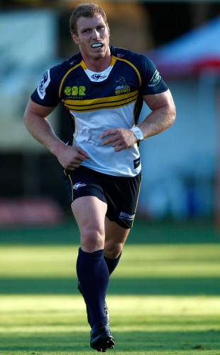 The Brumbies' David Pocock has returned to action, Western Force v Brumbies, Super Rugby trial, McGillivray Oval, Perth, January 23, 2015