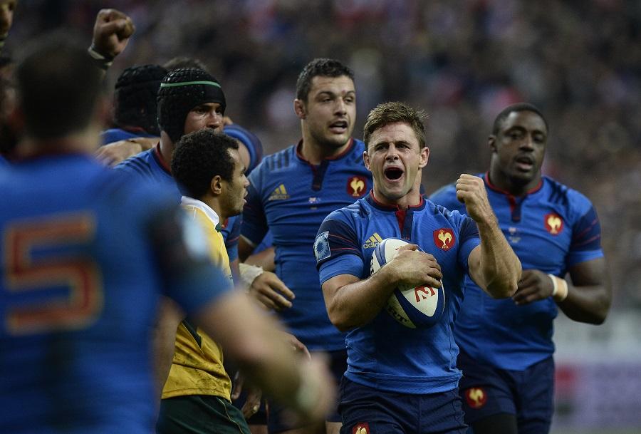 Rory Kockott celebrates at the final whistle