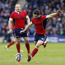 Greig Laidlaw kicks Scotland in front
