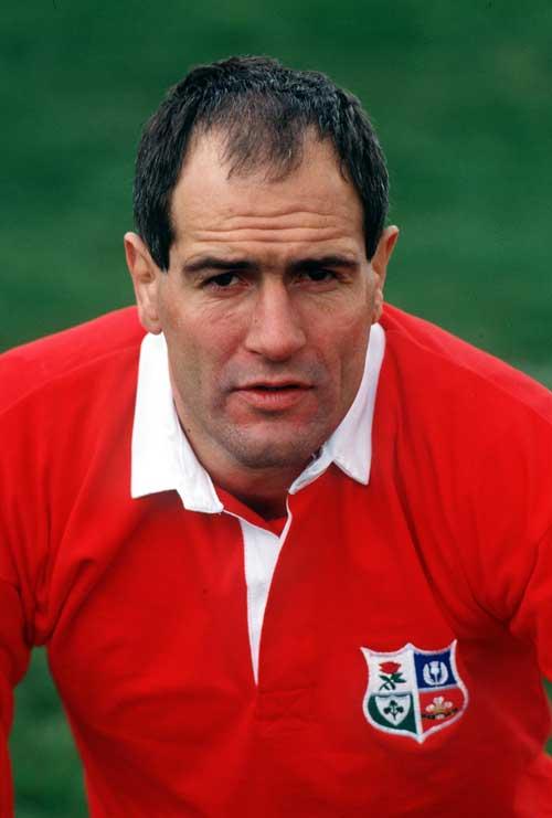 British and Irish Lions lock Paul Ackford
