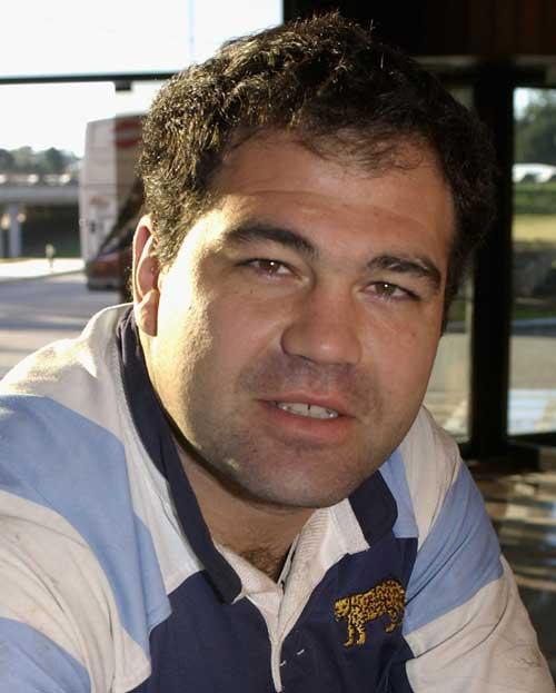 Argentina prop Federico Mendez