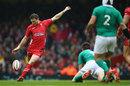 Dan Biggar lands a drop goal