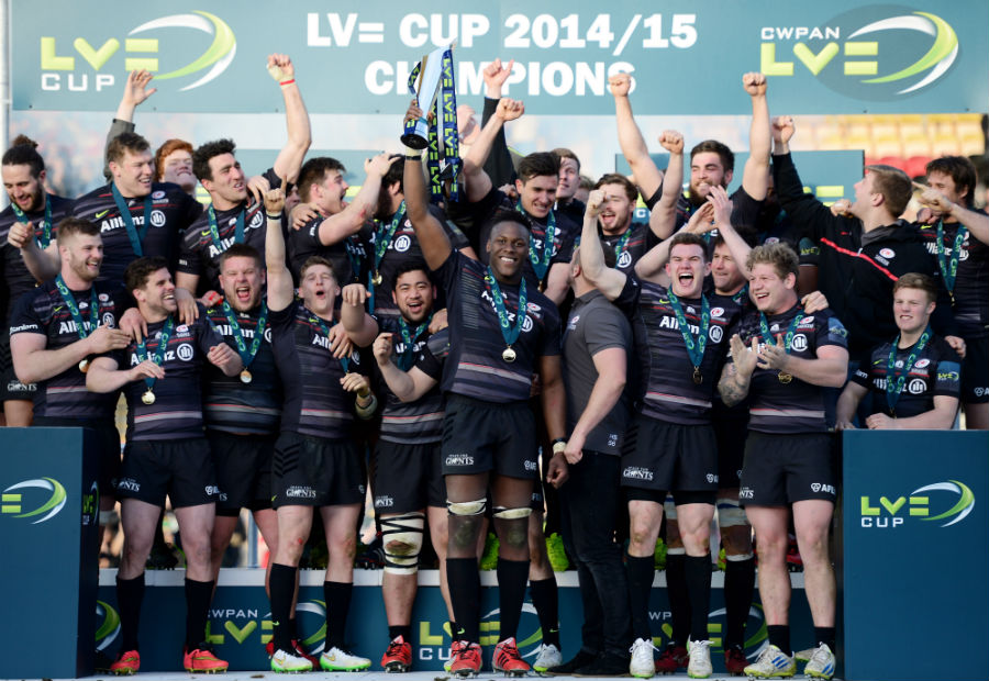 Saracens lift the LV=Cup