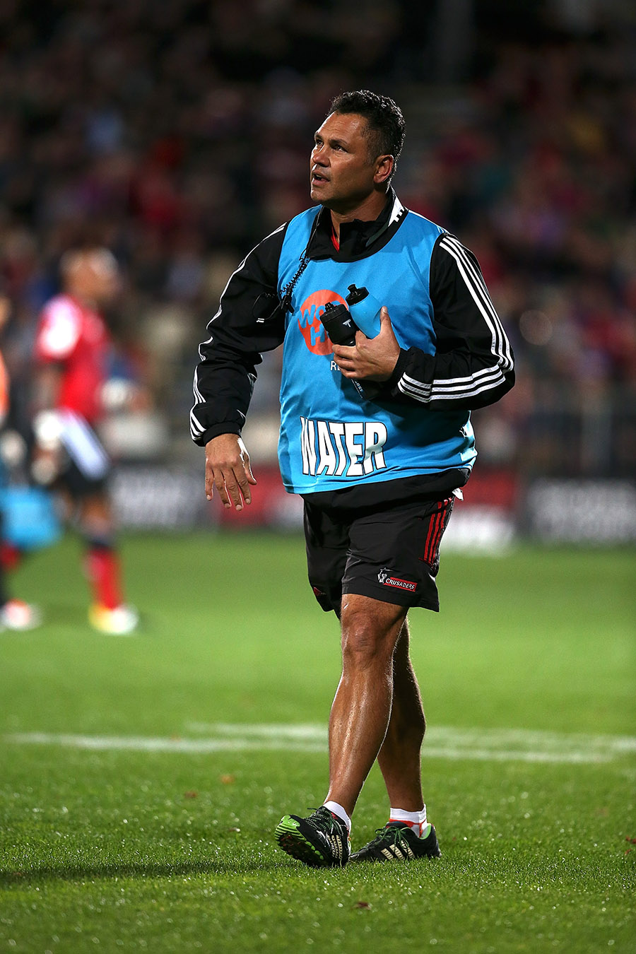 Tabai Matson, Crusaders assistant coach and waterboy