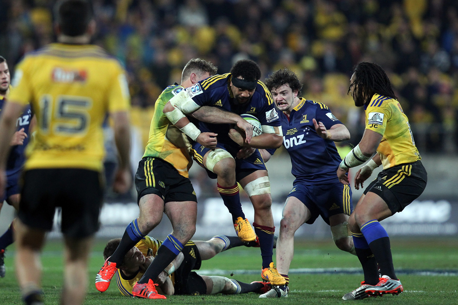 The Highlanders' Nasi Manu on the charge