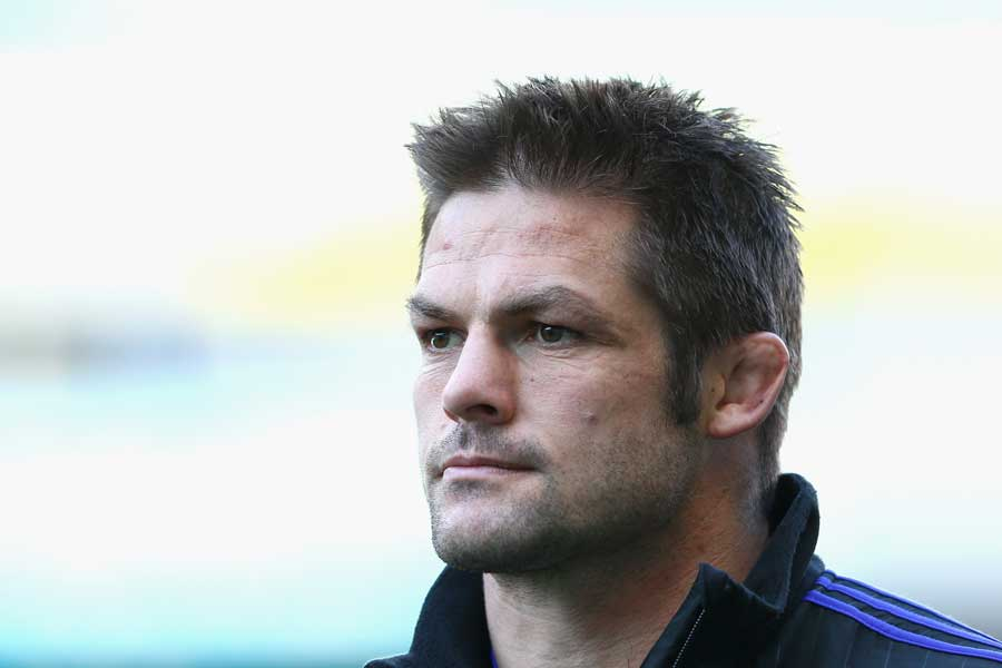 New Zealand's Richie McCaw during the All Blacks captain's run