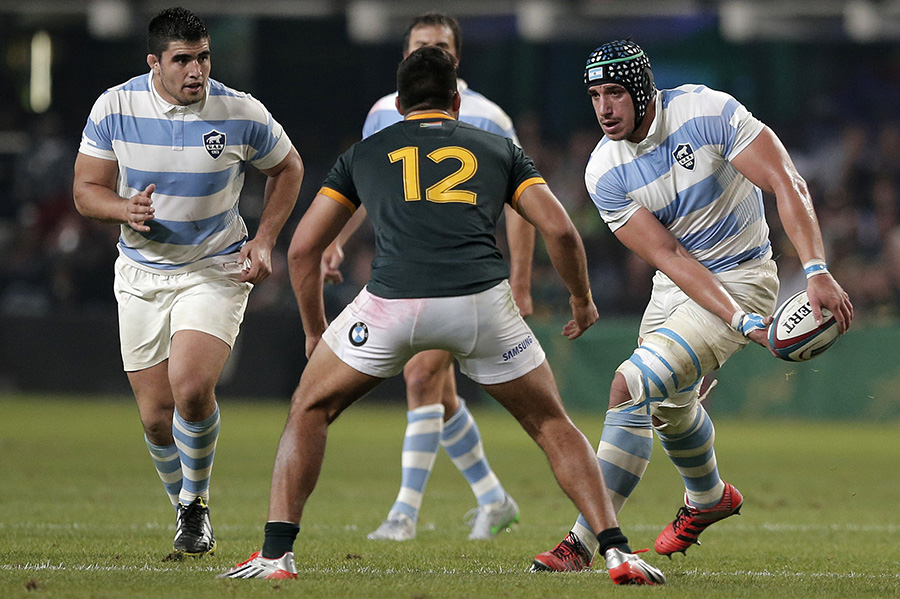 Tomas Lavanini and Argentina the game to the Springboks