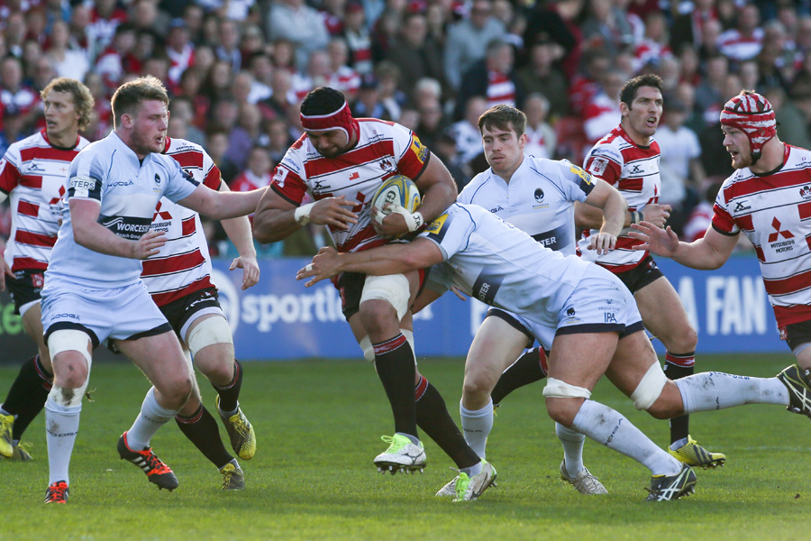 Sione Kalamafoni touched down in Gloucester win.