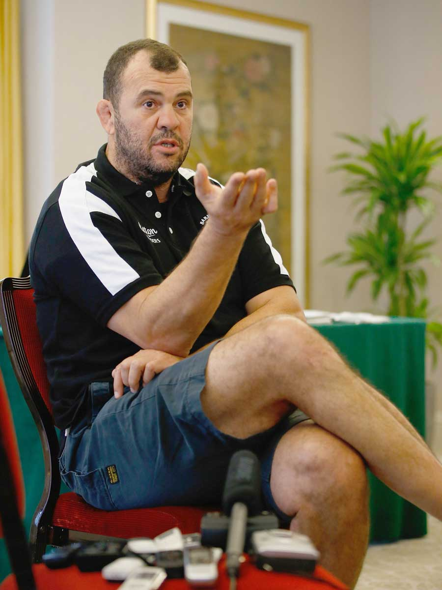 Michael Cheika is back in Britain to coach the Barbarians