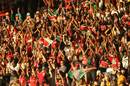 Kenya's fans celebrate victory over South Africa