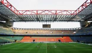 The San Siro stadium, Milan, April 2, 2007