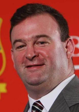 John Feehan, CEO of the British & Irish Lions, London, England, November 20, 2007
