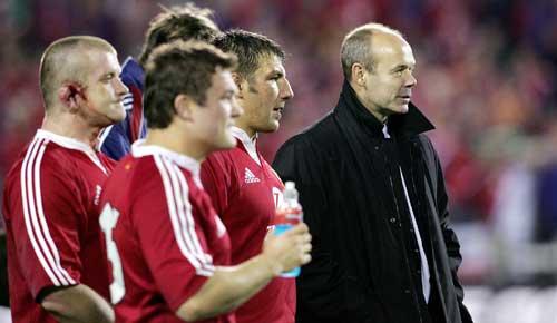 Lions coach Clive Woodward ponders defeat