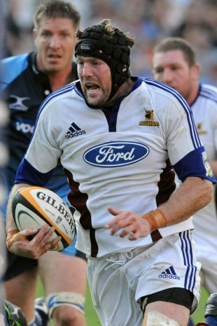 Tom Donnelly during the Super 14 match between Blue Bulls and Highlanders held at Loftus Versfeld Stadium on April 19, 2008 in Pretoria, South Africa.