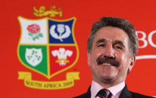 Gerald Davies, the 2009 tour manager poses following the press conference to announce HSBC as principal partner of the British & Irish Lions 2009 Tour to South Africa on November 20, 2007 in London, England.