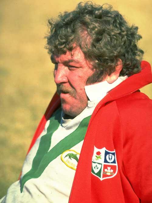 British and Irish Lions prop Graham Price