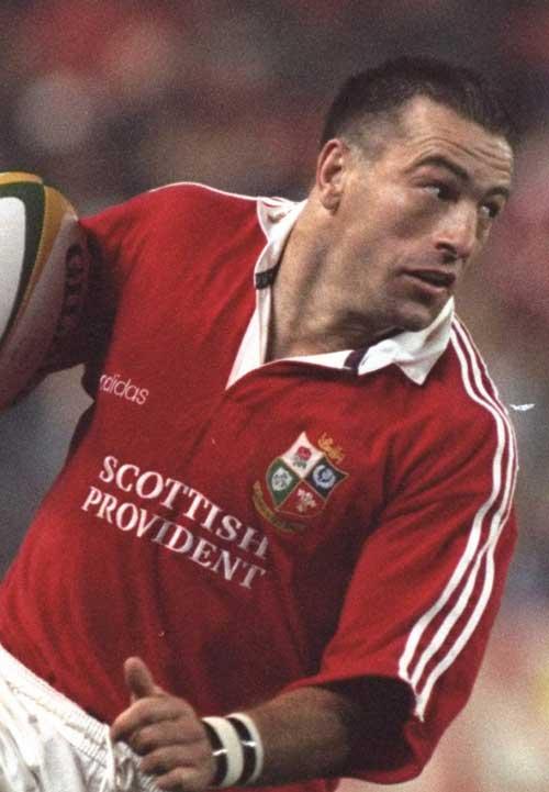 British and Irish Lions winger John Bentley