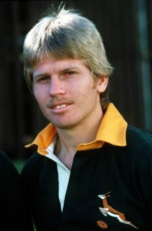 Former South Africa international Naas Botha, 1982