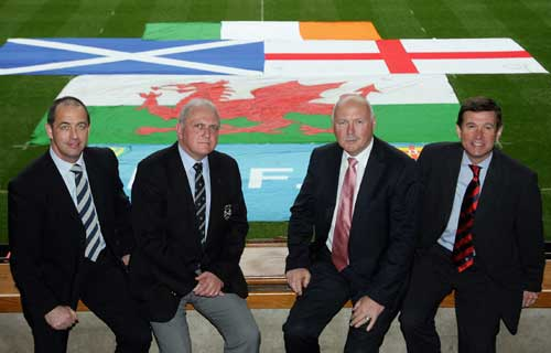 Official launch the British & Irish Cup at the Millennium Stadium