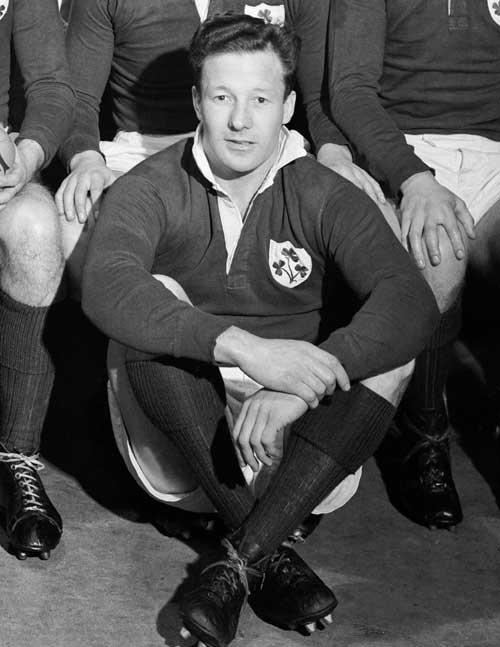 Former Ireland international Jackie Kyle