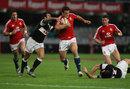 British & Irish Lions centre Jamie Roberts powers forward