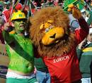 Supporters mix a clash between South Africa and the Lions