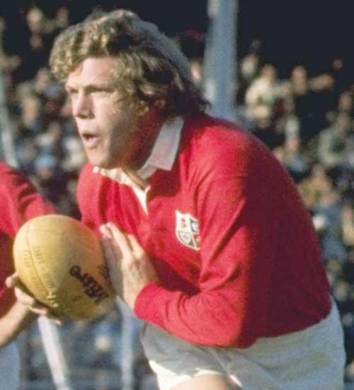 British & Irish Lions flanker Fergus Slattery