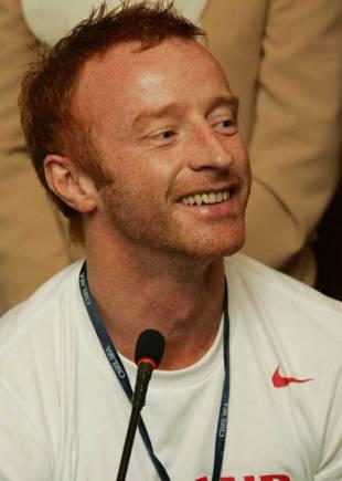 England Sevens coach Ben Ryan talks to the media at Dubai press club, Dubai, November 28, 2007