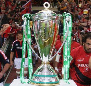 The Heineken Cup trophy