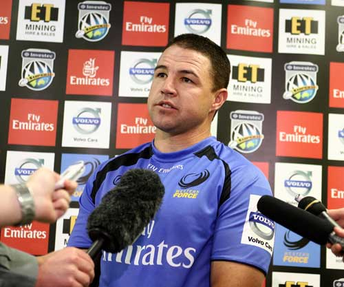 Western Force fly-half Andre Pretorius