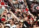Saracens fans bask in the sunshine at Wembley