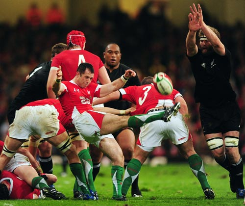 Gareth Cooper clears for Wales