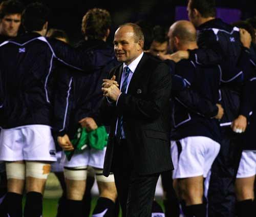Scotland coach Andy Robinson anticipates kick-off