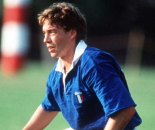 Italy fly-half Diego Dominguez