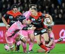 Toulon scrum-half Pierre Mignoni makes a break