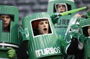Manawatu supporters lend support to their side