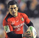 French centre Yann David in action for Toulouse
