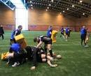 Glasgow Warriors prepare for their showdown with Edinburgh at Murray Park