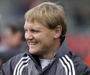 New Zealand Schools coach Josef Schmidt, Carisbrook, Dunedin, August 13, 2001