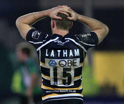Worcester fullback Chris Latham