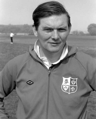British & Irish Lions coach Carwyn James