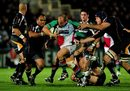 Harlequins Gary Botha in action in the Guinness Premiership