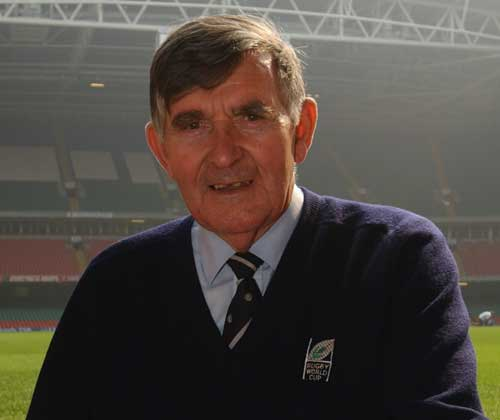 Commentator Bill McLaren