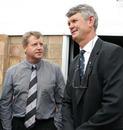 Former Springboks Johan Heunis and Morne du Plessis